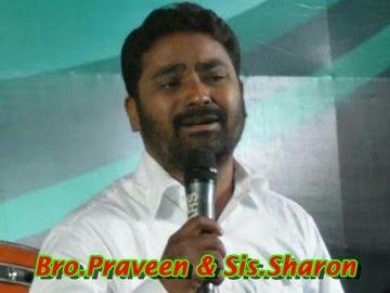 Bro.Praveen & Sis.Sharon-Aradana TV