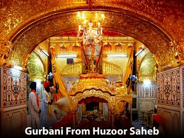 Gurbani From Huzoor Saheb-PTC Chak De